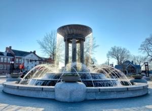 Cary fountain