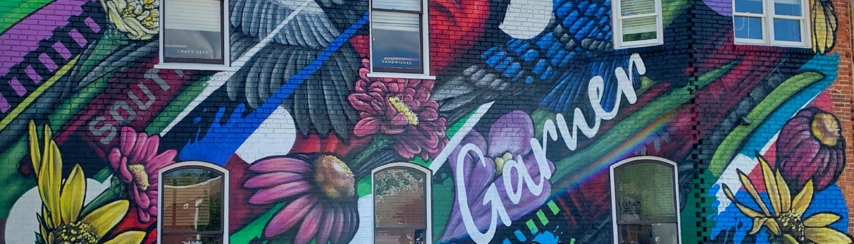 Garner mural